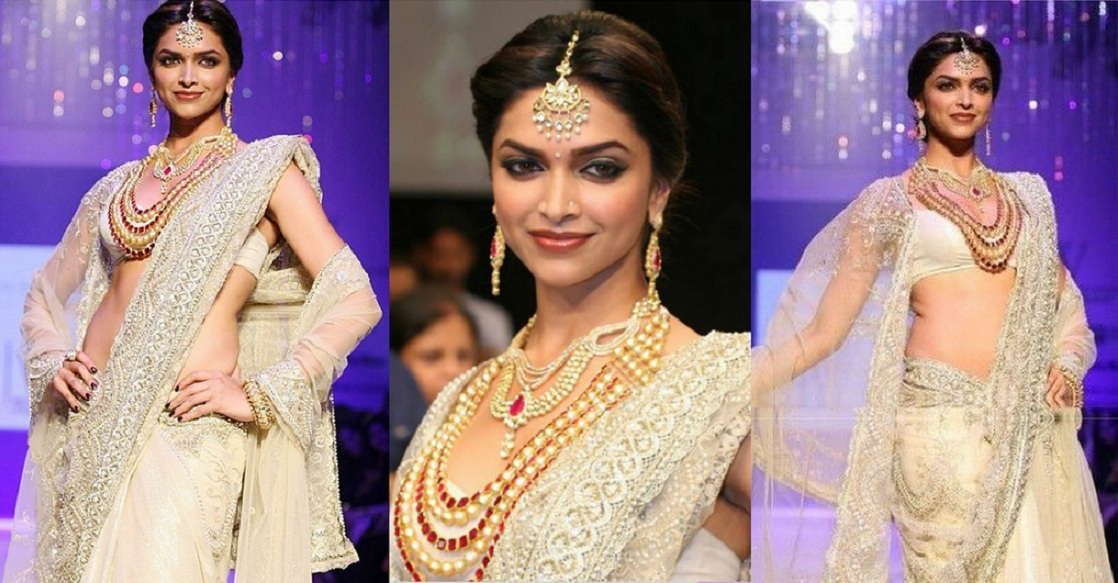 Deepika in saree, Different styles to wear bridal lehenga, Deepika in awards, Deepika in events
