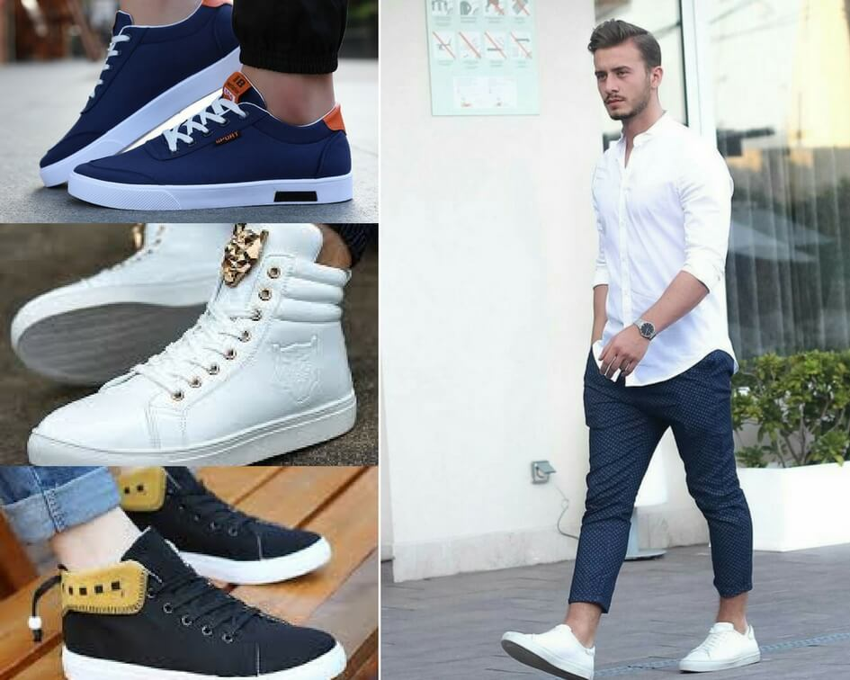 Cool sneakers for men, White sneakers for men, Trainers for men, types of sneakers for men, Trainers for gym