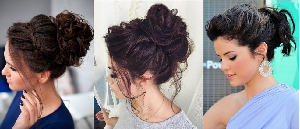 Messy Bun for Girls, Actresses Hairstyles, Easy Messy Bun, Beautiful Messy Bun for Ladies