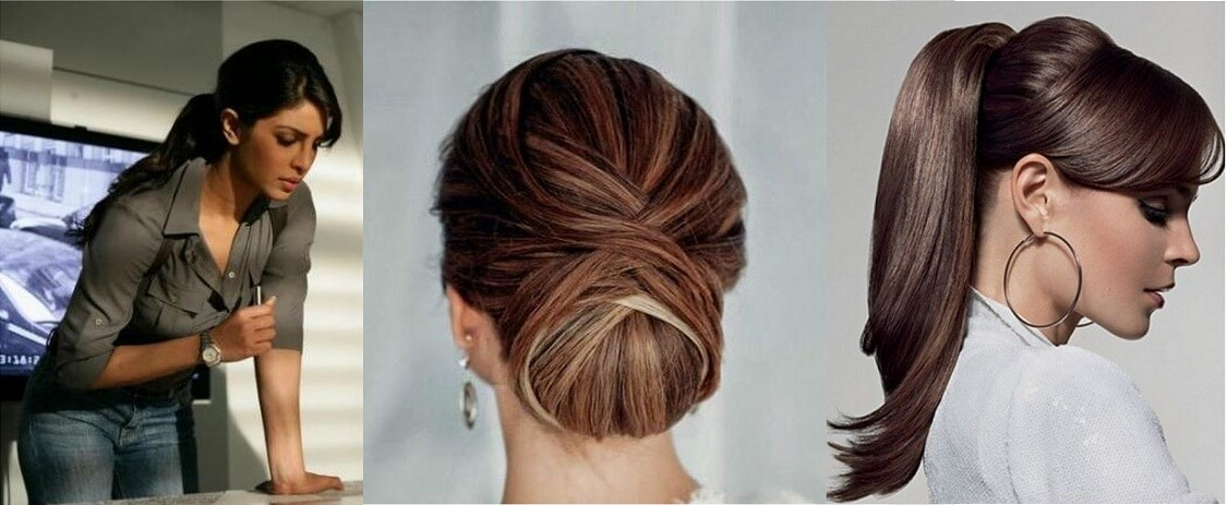 Office Hairstyles for Girls. Proper Hairstyles for Girls, Office Party Hairstyles