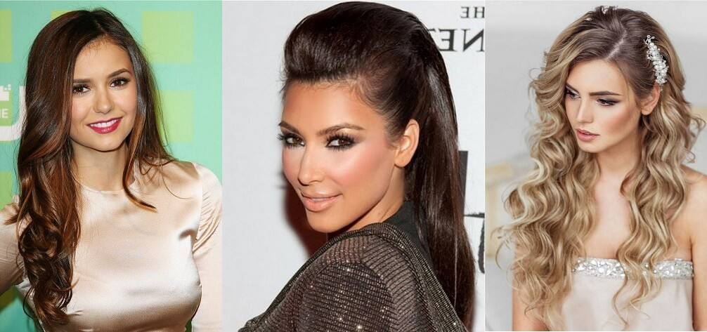 Straight Loose Hairstyles, Beautiful Loose Hairstyles, Celebrities Loose Hairstyles, Wet Loose Hairstyles
