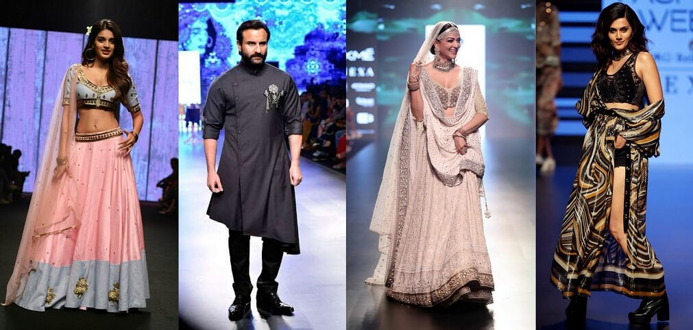 fashion week dresses bollywood