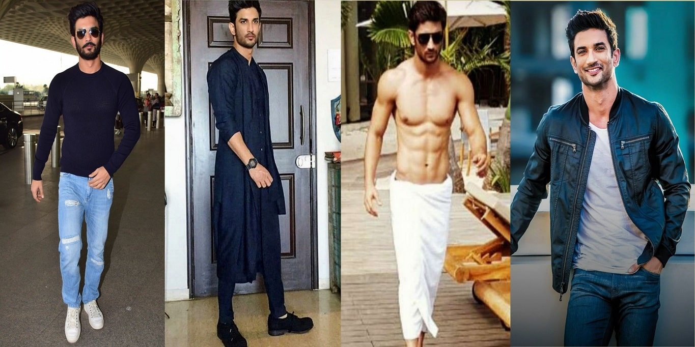 Sushant Singh Rajput Stylish Looks